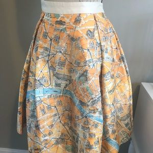 """Chicwish """"Wander in Paris"""" skirt"""